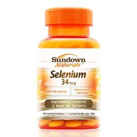 Selenium Sundown Naturals - 60 comprimidos