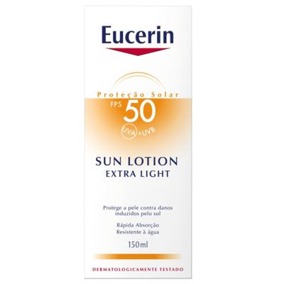 Imagem 2 do produto Eucerin Protetor Solar Sun Lotion Extra Light FPS50 150ml
