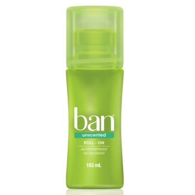 Imagem 1 do produto Desodorante Ban Roll On Unscented Sem Perfume 103ml