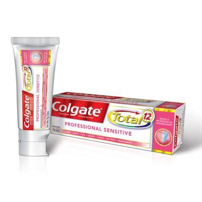 Imagem 1 do produto Creme Dental Colgate Total 12 Professional Sensitive - 70g