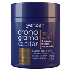 Yenzah Cronograma Capilar 3 Em 1 - Máscara de Tratamento - 480g