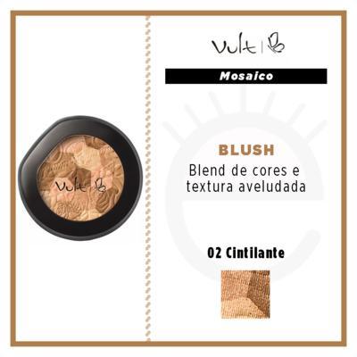 Imagem 4 do produto Blush Compacto Mosaico Vult - Blush - 02 Acetinado