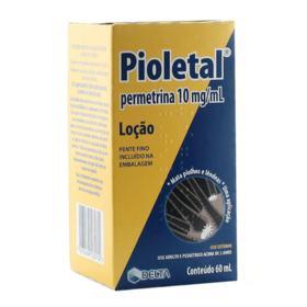Tratamento de Sarna Pioletal Plus - 50mg | 60ml