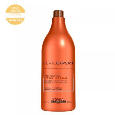 Imagem 1 do produto L'Oréal Professionnel Absolut Repair Pós-Química - Shampoo Multi-Reconstrutor - 1500ml