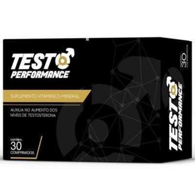 Testo Performance com 30 Comprimidos