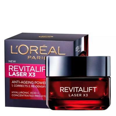 Imagem 2 do produto Rejuvenescedor Facial L'Oréal Paris Revitalift Laser X3 - 50ml