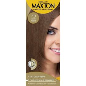 Kit Maxton Tint Creme - Louro Natural 7.0 | 125g