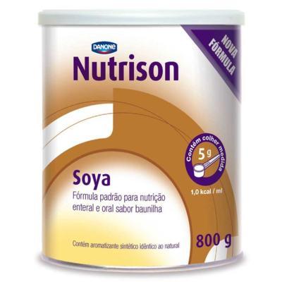 Imagem 1 do produto Kit Nutrison Soya Baunilha 6 unidades de 800g -