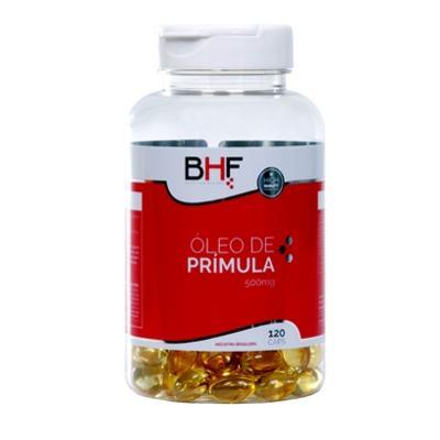 Imagem 1 do produto Óleo de Primula 500mg com 120 cápsulas BHF -