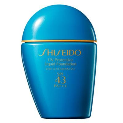 Imagem 1 do produto UV Protective Liquid Foundation SPF 43 Shiseido - Base para Rosto - Medium Ivory SP40 e 50