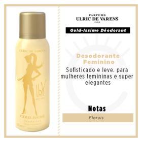 Gold-Issime Déodorant Ulric de Varens - Desodorante Feminino - 150g