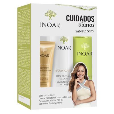 Imagem 2 do produto Inoar Body Care Cuidado Diário Kit - Creme + Sabonete + Gel Creme - Kit