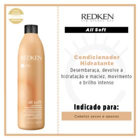 Redken All Soft Condicionador - Redken All Soft Condicionador 500ml