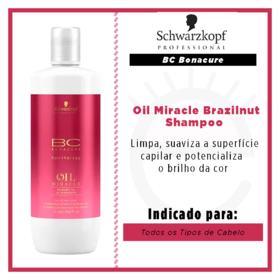 Schwarzkopf BC Bonacure Oil Miracle Brazilnut Oil Shampoo - Schwarzkopf BC Bonacure Oil Miracle Brazilnut Oil Shampoo 1000ml