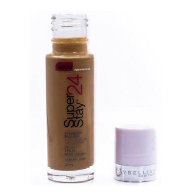 Imagem 4 do produto Super Stay 24H Maybelline - Base Facial - Caramel Dark