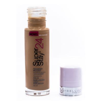Imagem 7 do produto Super Stay 24H Maybelline - Base Facial - Honey Beige Medium