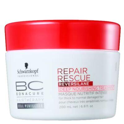 Imagem 1 do produto Schwarzkopf Professional BC Peptide Repair Rescue Deep Nourishing - Máscara de Nutrição Intensiva - 200ml