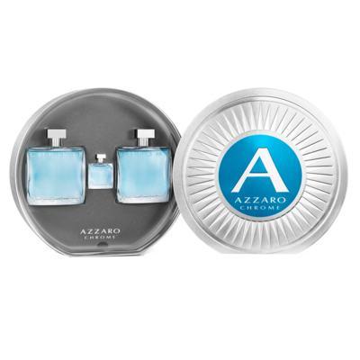 Imagem 2 do produto Azzaro Chrome Kit - Eau de Toilette + Pós-Barba + Miniatura - Kit