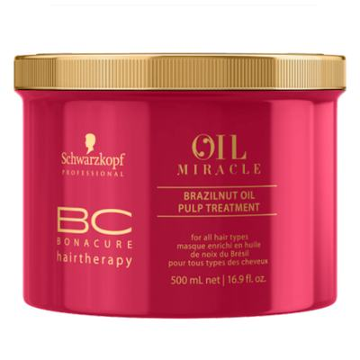 Imagem 4 do produto Schwarzkopf BC Bonacure Oil Miracle Brazilnut - Máscara de Tratamento - 500ml