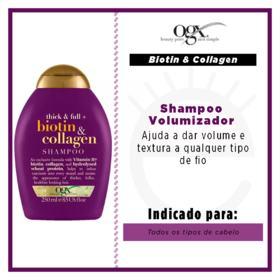 Shampoo Ogx - Biotin & Collagen | 250ml