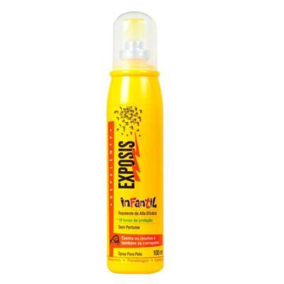Imagem 2 do produto Kit Repelente Exposis Spray Infantil 100ml + Protetor Solar Cor Vichy Capital Soleil FPS 50 50g