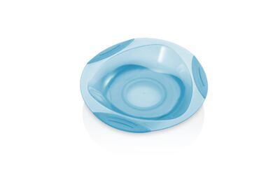 Imagem 2 do produto Prato Raso com Ventosa Funny Meal Azul Multikids Baby - BB049