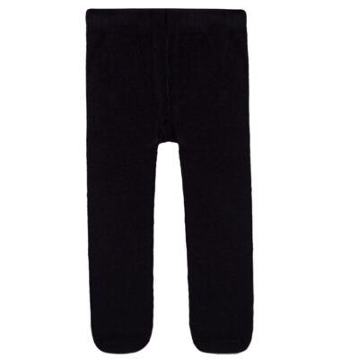 Imagem 2 do produto Meia calça para bebe em algodão Preto - Puket - PK2401L-P MEIA CALCA BABY LISA PRETO-3-4 anos