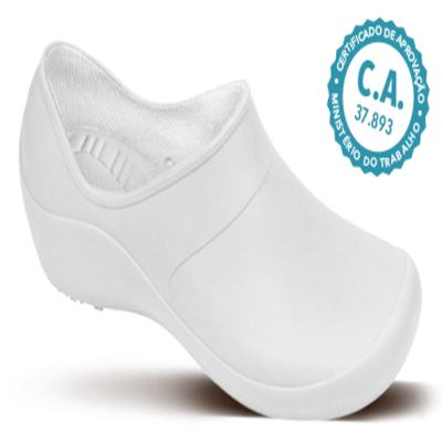 Imagem 1 do produto Sapato Profissional Feminino Mary Branco Boa Onda - 36