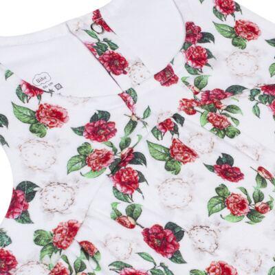 Imagem 2 do produto Vestido em algodão egípcio Le Flowers - Bibe - 37E10-G23 VE EST DIG GDE BY BIBE-3