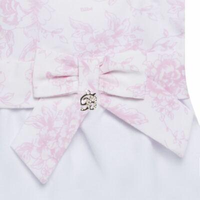 Imagem 4 do produto Macacão regata para bebe em algodão egípcio Toile du Jouy - Bibe - 41D05-A53 BANHO DE SOL FEM GERANIO-G