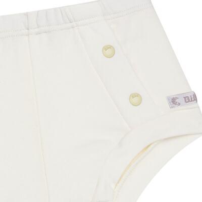 Imagem 2 do produto Cobre Fralda em algodão egípcio Marfim - Bibe - 10P02-115 TP FRALDAS CRISTAL MARFIM -G