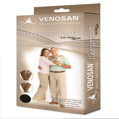 Imagem 1 do produto Meia Panturrilha Ad 40 Mmhg Ulcercomfort Venosan - Longa P