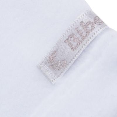 Imagem 3 do produto Casaco para bebe em microsoft Branco - Bibe - 10M14-01 CAS BASICO CRISTAL BY BIBE-GG