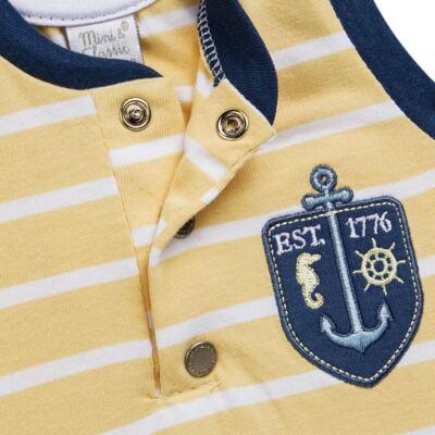 Imagem 3 do produto Macacão regata para bebe em malha Ocean Spirit - Mini & Classic - 9003666 MACACAO REGATA MALHA SUMMER-G