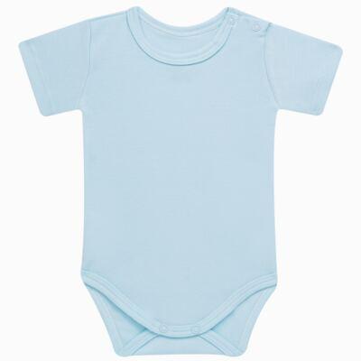 Imagem 2 do produto Pack: 02 Bodies curtos para bebe em algodão egípcio c/ jato de cerâmica Prince Bear - Mini & Classic - 1024656 PACK 2 BODIES MC SUEDINE URSO -RN