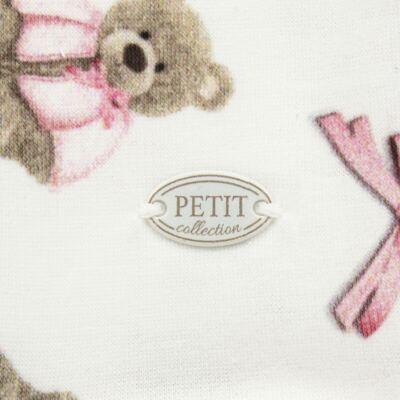 Imagem 3 do produto Macacão longo para bebe em viscomfort Bellamy - Petit - 21224168 MACACAO ML VISCOMFORT URSA -P