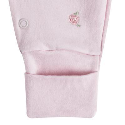 """Imagem 2 do produto Macacão longo c/ abertura """"S"""" para bebe em algodão egípcio Princess Bear - Mini & Classic - 2004655 MACACAO S C/ PE REVERSIVEL SUEDINE URSA-M"""