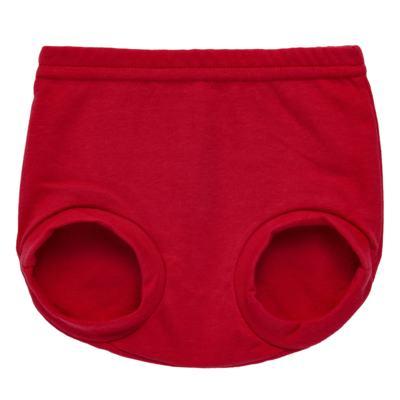 Imagem 1 do produto Cobre Fralda para bebe em suedine Vermelho - Tilly Baby - TB13116.04 COBRE FRALDA VERMELHO CEREJA-P