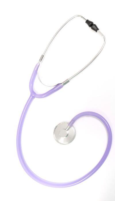 Imagem 1 do produto Estetoscópio Simples Unosson Lilás EST30 P.A. Med