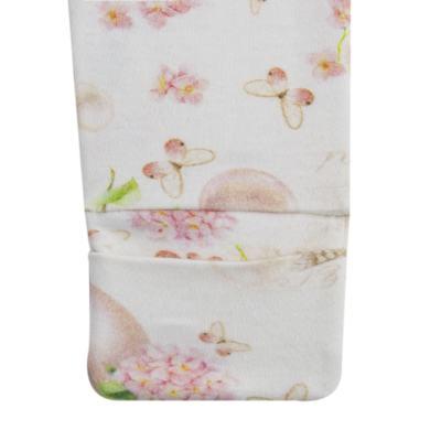 Imagem 4 do produto Macacão Colete para bebe em suedine Pearls - Bibe - 38C07-G42 MACACAO FEMININO ML -P
