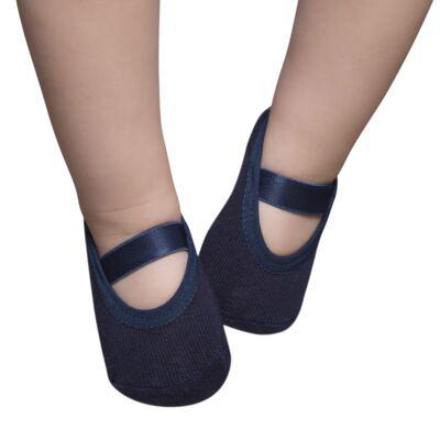 Imagem 1 do produto Meia Sapatilha para bebe Azul Marinho - Puket