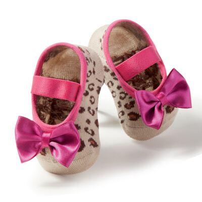 Imagem 1 do produto Meia Sapatilha Oncinha Pink - Puket
