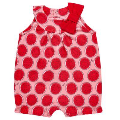 Imagem 1 do produto Macacão regata para bebe em malha Melancia - Tilly Baby - TB168443 MACACAO REGATA FEM MELANCIA-G
