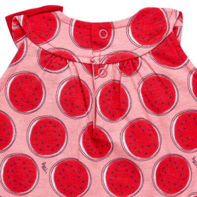 Imagem 3 do produto Macacão regata para bebe em malha Melancia - Tilly Baby - TB168443 MACACAO REGATA FEM MELANCIA-G