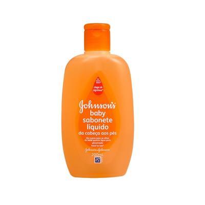 Imagem 3 do produto Sabonete Líquido Johnson's Baby Banho Glicerinado Da Cabeça Aos Pés 200ml -