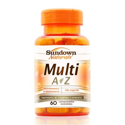 Imagem 1 do produto Multivitamínico Sundown Naturals Multi A-Z 60 Comprimidos