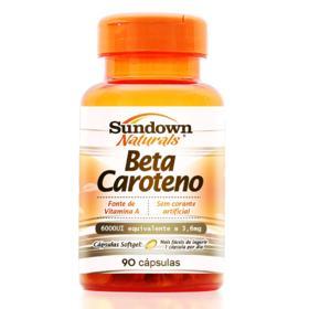 Betacaroteno 6.000UI Sundown - 90 cápsulas