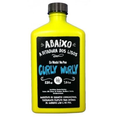 Imagem 1 do produto Condicionador Lola Curly Wurly Co Wash No Poo 250g