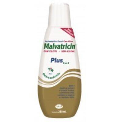 Imagem 1 do produto Antisséptico Bucal Malvatricin Plus 250ml