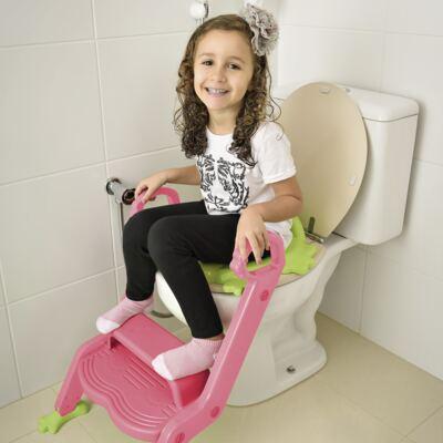 Imagem 3 do produto Redutor de Assento Com Escada Menina Multikids Baby - BB052